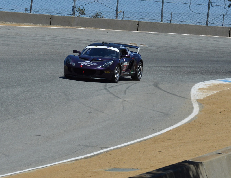 Picture of Exige on track