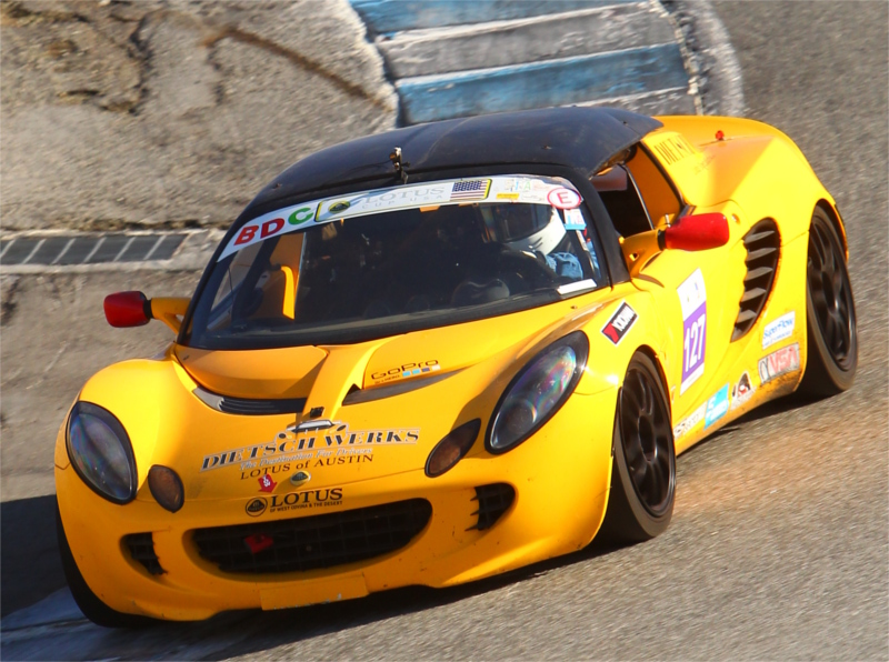 Elise #127 in the corkscrew