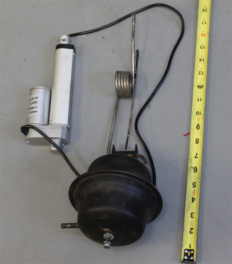 Picture of rubber bellows assembly