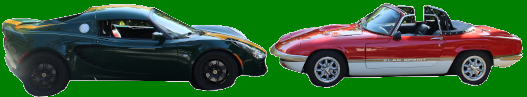 graphic with lotus elise and lotus elan
